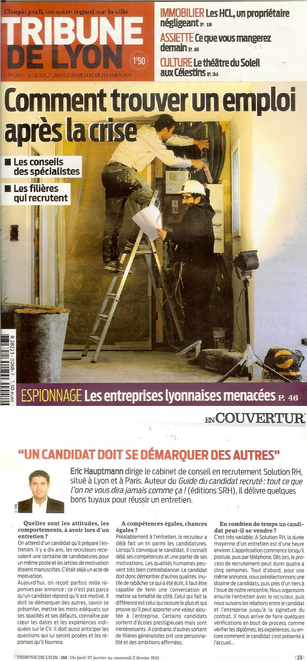Cabinet de recrutement lyon grenoble valence saint - Entretien cabinet de recrutement questions ...